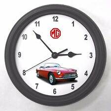 1969 MGB MG Garage Wall Clock New Great Gift!