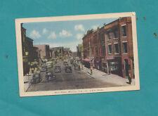 Main Street Moncton New Brunswick Canada  Photo Vintage Cars Postcard Autos