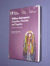 Teaching Co Great Courses DVDs  SHAKESPEARE  Comedies Histories Tragedies    NEW