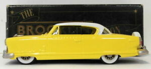 Brooklin 1/43 Scale BRK34A 001  - 1954 Nash Ambassador Coupe Yellow/White