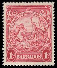 """BARBADOS 194 (SG249a) - King George VI """"Colonial Badge"""" (pa50778)"""