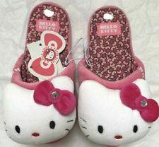 BNWT - Hello Kitty Pink Mule Slippers - 12-13 - BNWT