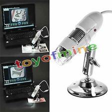 200X cámara de 2MP 2.0 mega píxeles USB Microscopio Digital Endoscopio Lupa LED