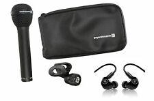 Beyerdynamic M88TG M88 TG Dynamic Microphone Mic+Bag+Mackie In-Ear Monitors