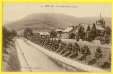 cpa Alsace SAVERNE (Bas Rhin) JUDAICA SYNAGOGUE Canal de la MARNE au RHIN