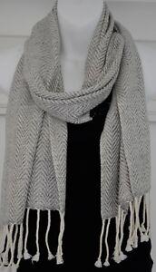 Woollen Scarf Pashmina Cashmere Soft Winter Warm Wrap 165x30cm Nepal EU1006