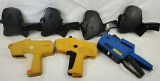 Lot Of 7 assorted price tag Labeling Guns As-is Monarch, contact, primark
