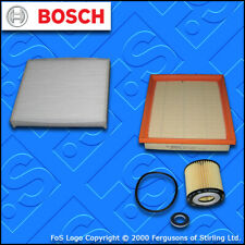SERVICE KIT for LEXUS 200H CT (ZWA10) BOSCH OIL AIR CABIN FILTERS (2010-2019)