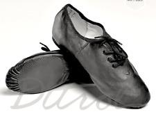 NEW Black Lace-Up JAZZ Shoes- Child Size 12