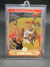 2006 Topps Chrome Lebron James #67 Cleveland Cavaliers Los Angeles Lakers