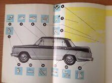 Original NOS Riley 4 Seventy Two Accessory Brochure 472