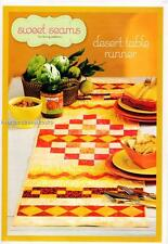 Desert Table Runner    Pieced Quilt Pattern Instructions