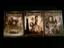 Lord Of The Rings Trilogy Dvd, The Two Towers, Return Of The King, Peter Jackson