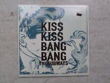 """THE SUBWAYS """"KISS KISS BANG BANG""""(RADIO MIX)  LTD EDITION  GREY VINYL 7"""" SINGLE"""