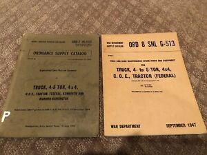 Federal Kenworth Marion Herrington G513 Parts Manuals