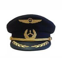 Ukraine, FIRST OFFICER Peaked cap, Co-pilot, Original visor hat Aviator Aircraft