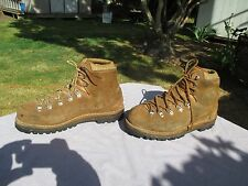 VTG MEN'S HENKE MADE SWITZERLAND SMOKE JUMPER MOUNTAINEERING BOOTS SZ 9 1/2 WIDE