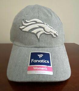 Denver Broncos Fanatics Women's Adjustable One Size Cap Hat NEW