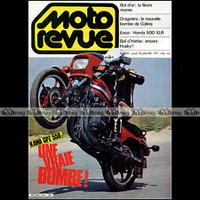 MOTO REVUE N°2567 HONDA 500 XR XLR KAWASAKI GPZ 550 DRAGSTER FUNNY BIKE 1982