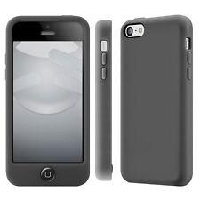 NEW GENUINE SWITCHEASY COLORS PLASTIC CASE COVER IPHONE 5C BLACK SW-COL5C-BK