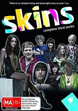 Skins : Series 3 (DVD, 2009, 3-Disc Set) TV Drama Series Adult Themes VGC R4