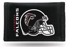Atlanta Falcons Football Licensed NFL Sports  Wallet Nylon Trifold Front Pocket