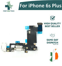 For iPhone 6s Plus Charging Port Connector Mic Headphone Jack Flex Cable White