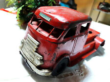 TRUCK OF FIREFIGHTERS VINTAGE TIN TOY