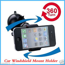 360° Mount Car Holder for Apple iPhone 6 Plus 5 4 4S Universal Windshield Phone