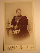 Aquisgrana-signora Theodor Cossmann Rozès Elise Dubbel - 1893/CDV