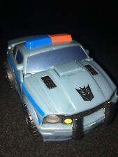 Transformers MOVIE CYBER SLAMMERS PATROL BARRICADE Figure Loose Hasbro 2006