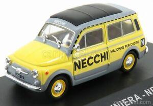 FIAT 500 GIARDINIERA NECCHI 1960 SCALA 1/43 EDICOLA VCDE013 MODELLISMO