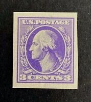 US Stamps, Scott #535 single Type IV 1918 XF/Superb Large margins M/VVLH