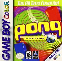 Pong: The Next Level - Nintendo Game Boy Color