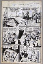 ORIGINAL ART from RANGERS  #39, Fiction House, 1948: Page 28, Charles Sultan