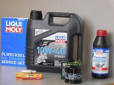 Sistema de mantenimiento HONDA VTX 1300 Filtro aceite bujía Servicio Inspección