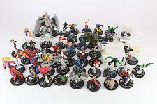 Heroclix Arkham Asylum 53 Figures (42 Different) Ares Scarlet Witch Quicksilver