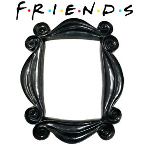 TV Series Friends Handmade monica's Door Frame TV Show Black Picture Photo Frame