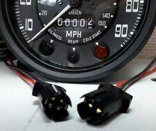 Land Rover Series Smiths Gauge Instrument Warning Light E10 T10 Bulb Holder x2