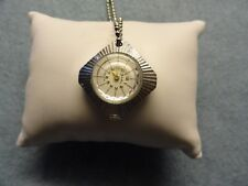 Swiss Made Fashion Time Vintage Wind Up Necklace Pendant Watch