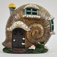 Garden Fairy House Lumaca con Luci Decorativa Ornamento Giardino Segreto