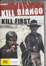 KILL DJANGO KILL FIRST - NEW & SEALED REGION 4 DVD FREE LOCAL POST