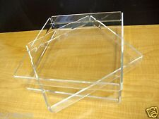 3 Acrylic Trays Pastry Bakery Donut CUPCAKE Stand Display Case