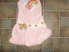 Girls Juniors M/L Leg Avenue Teddy Bear Halloween Costume pink rainbow darling