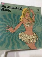 INTERNATIONAL MUSIC BHARAT KARKI LP INDIA funk/fuzz/psych/folk MEGA RARE G+