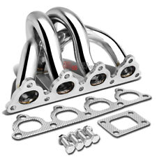 FOR 88-00 HONDA D-SERIES D15 D16A T25 STAINLESS STEEL TURBO MANIFOLD EXHAUST KIT