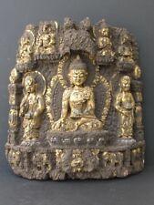 Grande Sculpture Newar en Bois du NEPAL