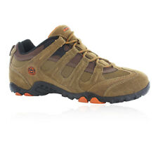 HI-TEC Quadra Classic Mens Brown Walking Hiking Sports Shoes Trainers 10