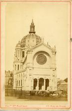 Maison Martinet, France, Paris, Église Saint-Augustin de Paris, ca. 1880, vintag