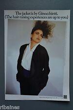 R&L Ex-Mag Advert: Ginocchietti Jacket, Harvey Nichols, Retro 1980's Fashion